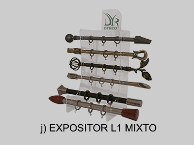 expositor L1 mixto