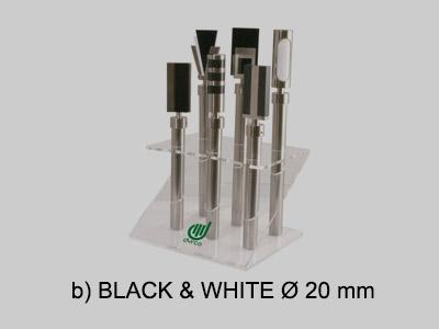 expositor black white