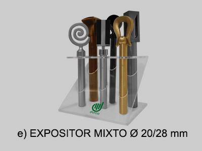 expositor mixto 20 28